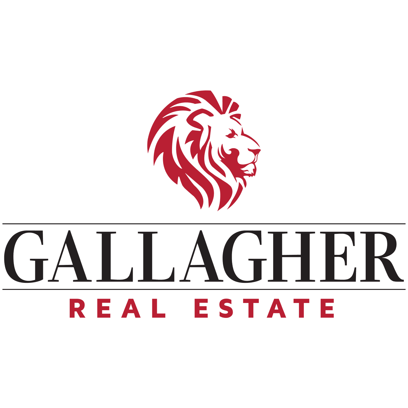 Gallagher Real Estate logo design and branding by DIF Design
