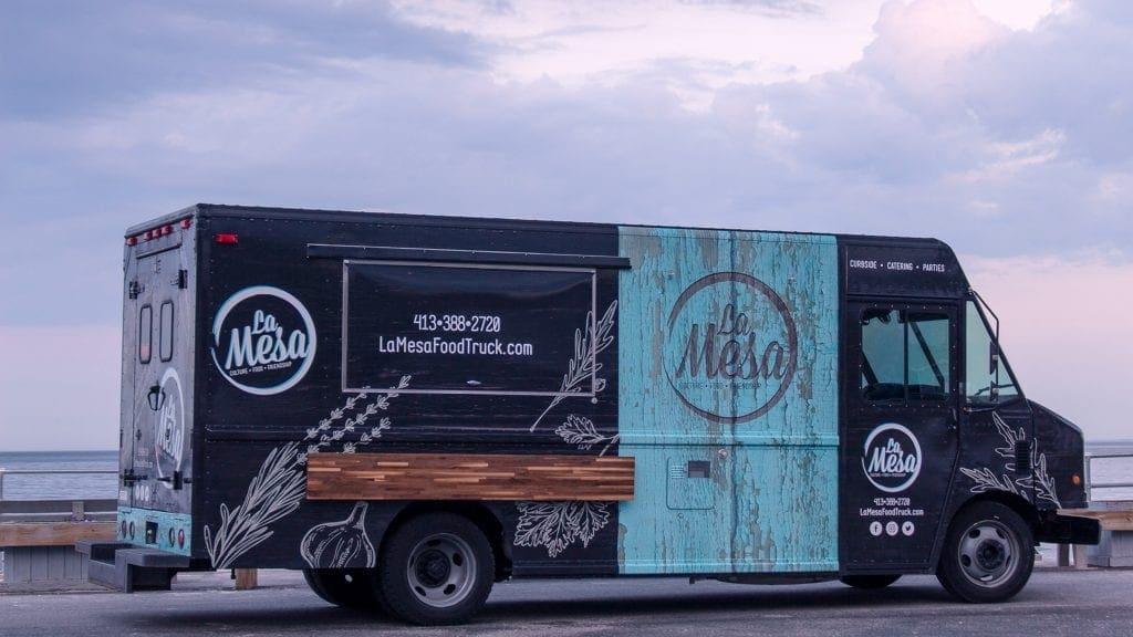 La Mesa truck wrap design by DIF Design