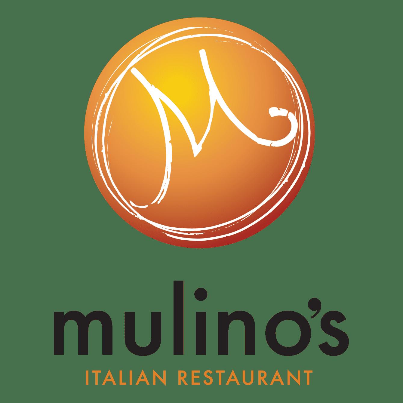 Mulino's Italian Restaurant logo design and website design by DIF Design