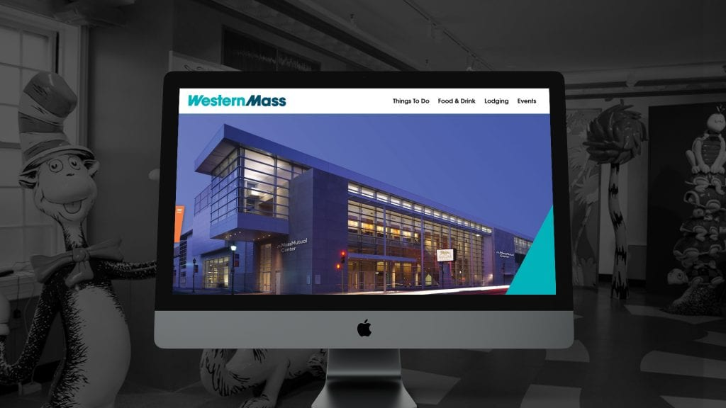 Explore Western Mass website design and development by DIF Design
