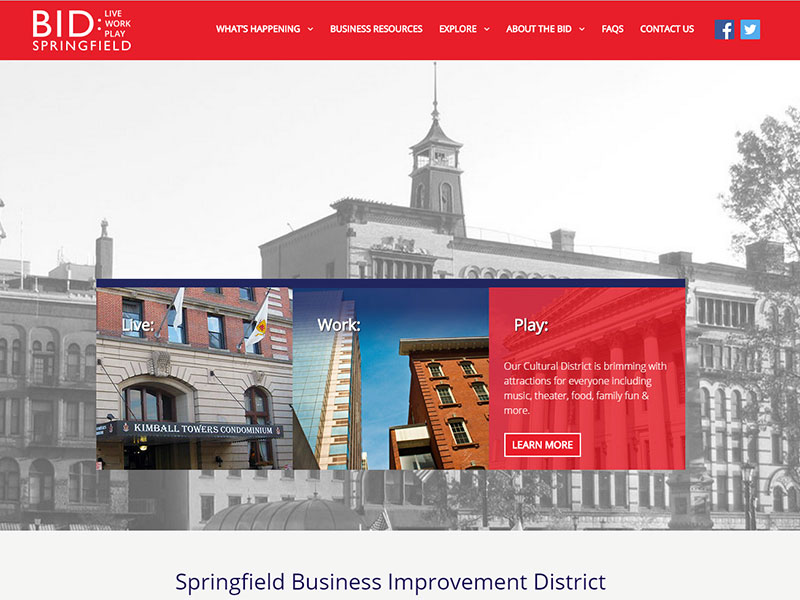 Springfield-Business-Improvement-District-Website