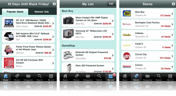 TGI Black Friday app
