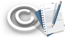 copyright image for website content