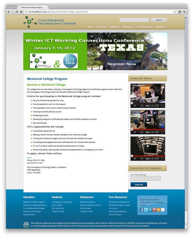 CTC Website Design