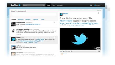 Twitter - New Design