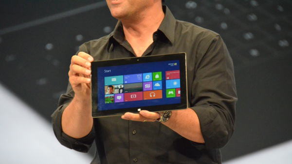 "Windows announces ""Surface"" Tablet"