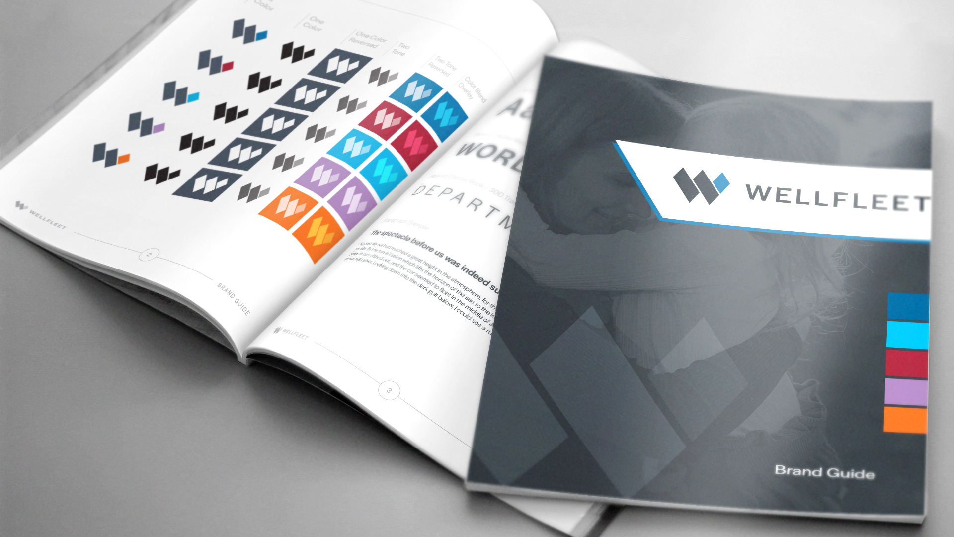 DIF Design Project - Wellfleet Logo and Identity Style Guide