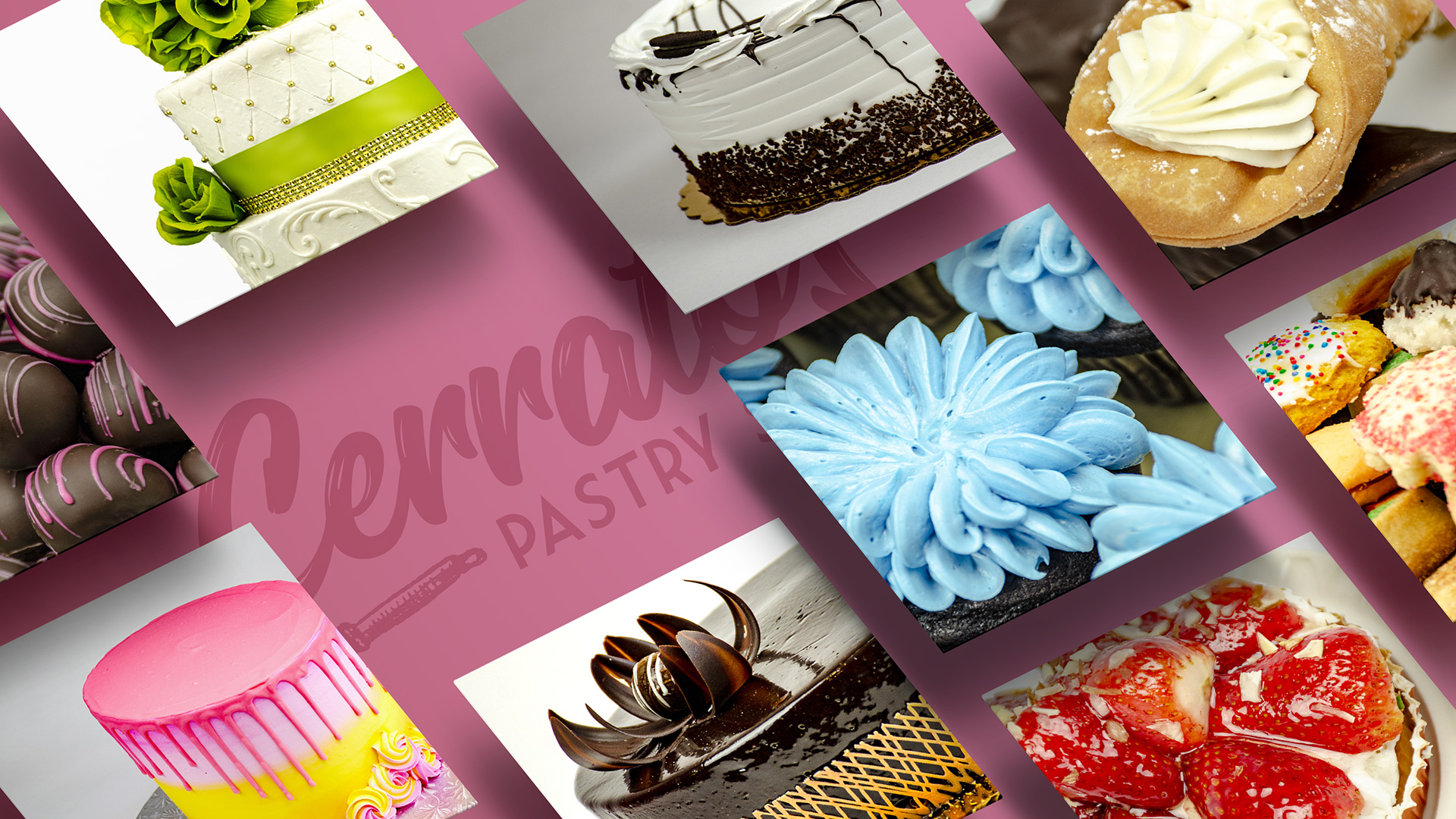 DIF Design Project - Cerrato's Bakery product photography