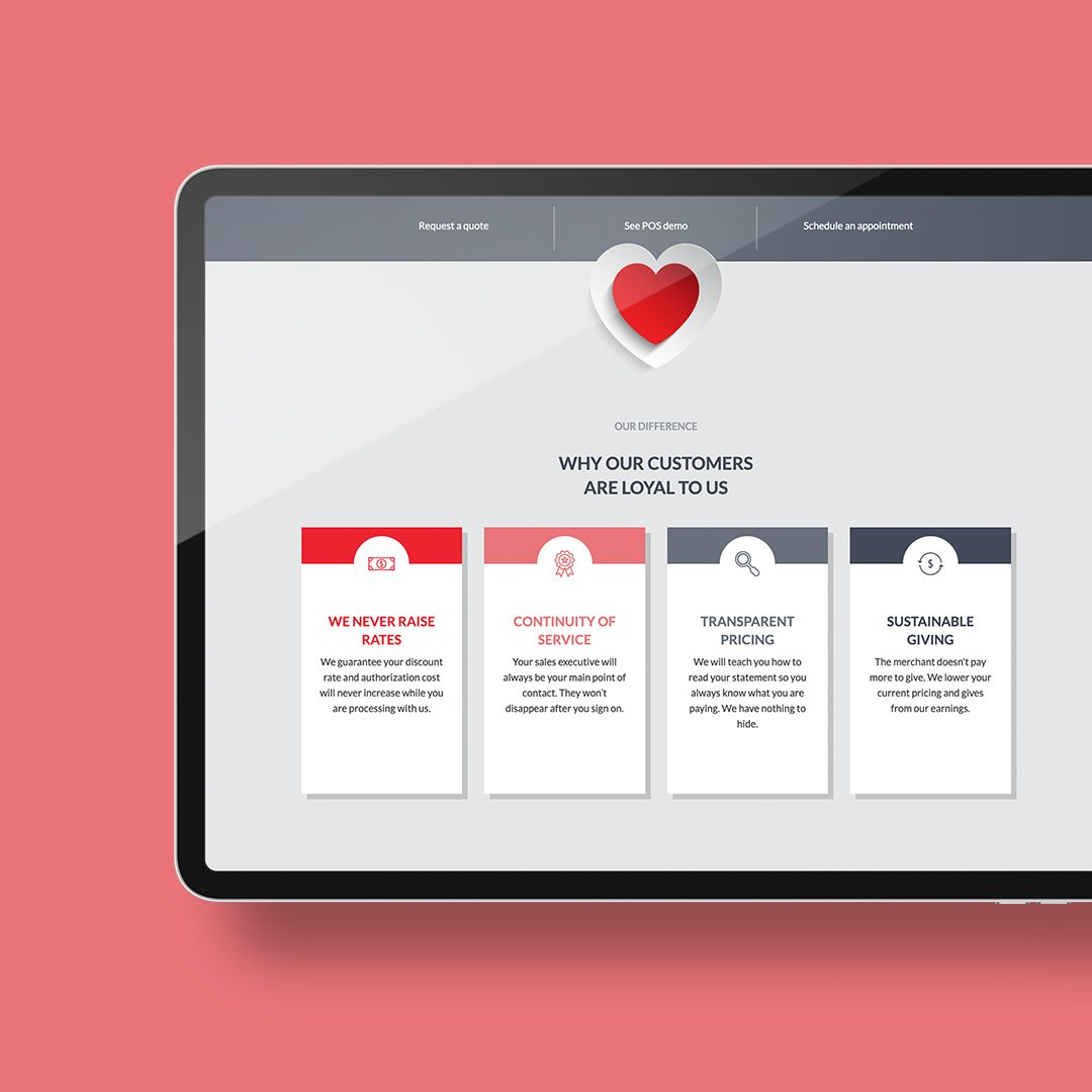 DIF Design Project - Swipe for Cause website